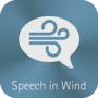 Speech in Wind